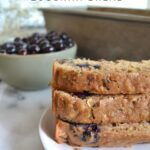 blueberry zucchini bread pinterest graphic