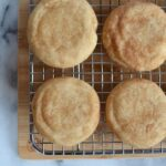 Thick and chewy snickerdoodles! #twosugarbugs #snickerdoodles #cinnamonsugar