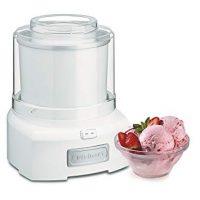 Cuisinart ICE-21 1.5 Quart Frozen Yogurt-Ice Cream Maker (White)