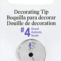 Wilton 418-4 No.4 Decorating Tip, Round