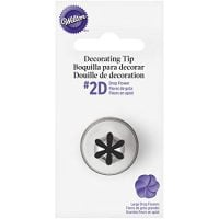 Wilton No.2D Decorating Tip, Drop Flower