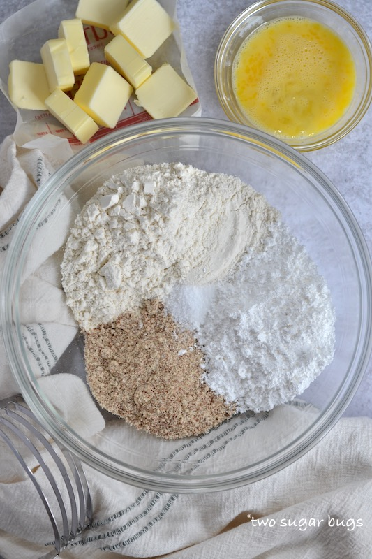 almond tart crust ingredients
