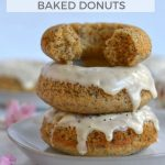 pinterest graphic for orange poppy seed donuts