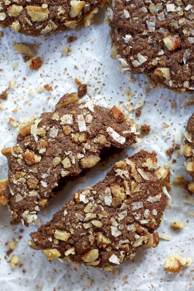 Easy German Chocolate Cookies Two Sugar Bugs