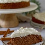 homemade apple spice cake pinterest graphic