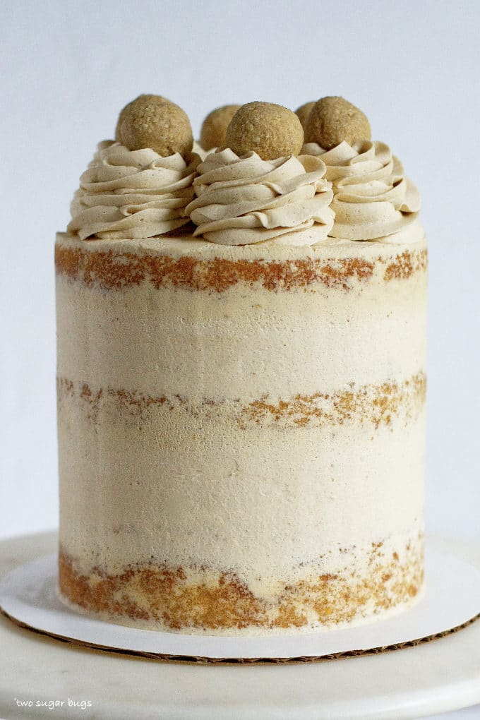 brown sugar oatmeal cookie dough cake