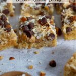 pinterest graphic for brown sugar snack cake bars