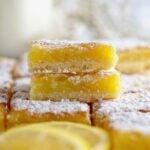 pinterest graphic for mom's lemon bars
