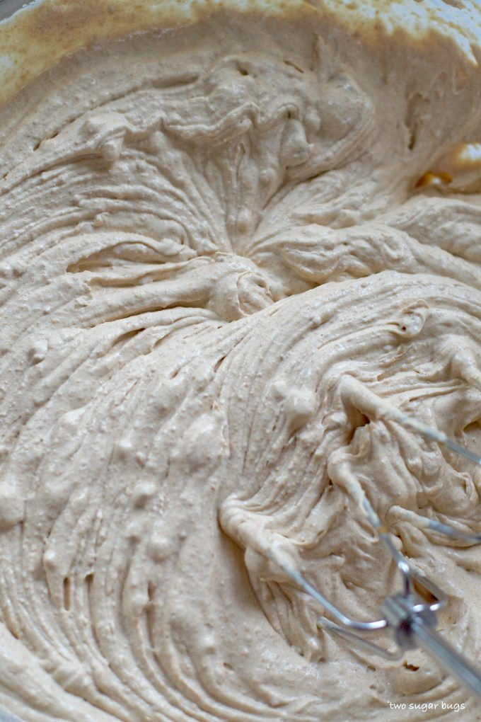 upclose look at whipped mousse