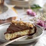 pinterest graphic for almond joy pie