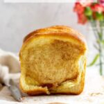 pinterest graphic for easy sweet pull apart bread