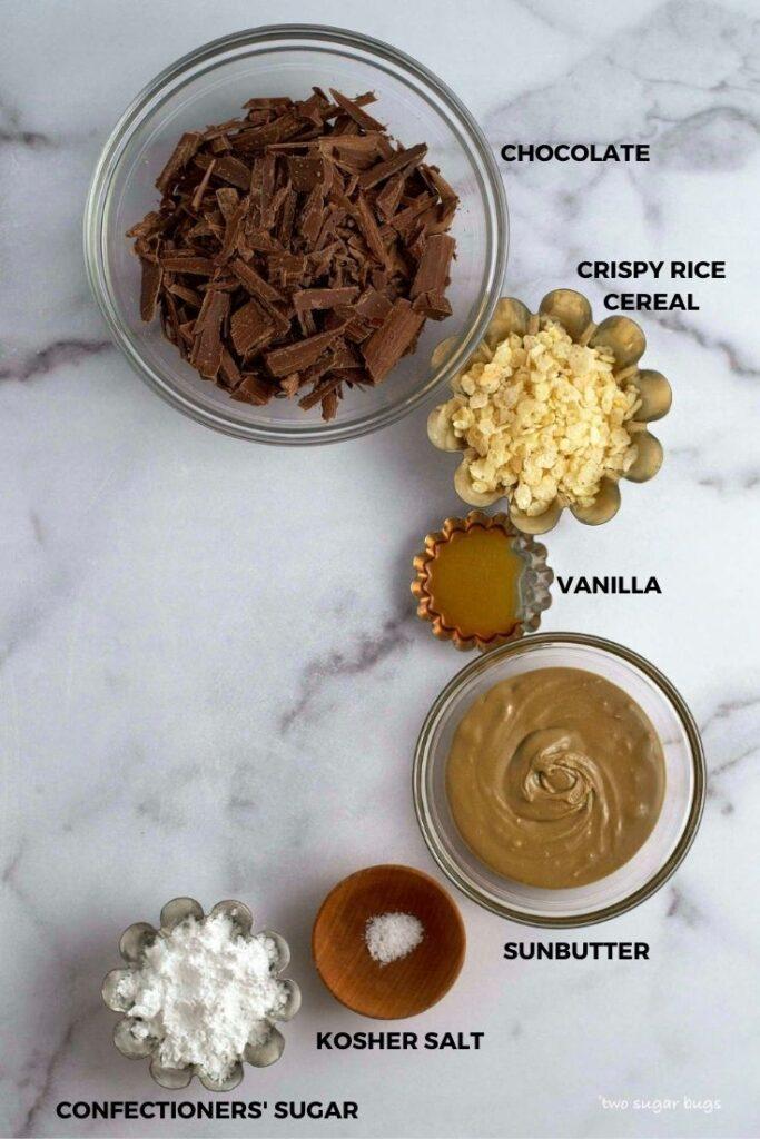sunButter cups ingredients