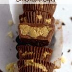 pinterest graphic for sunbutter cups