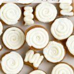 no bake pumpkin cookies pinterest image
