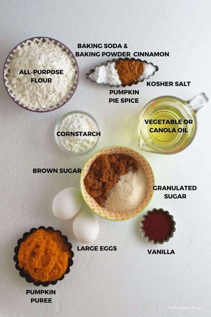pumpkin snack cake ingredients